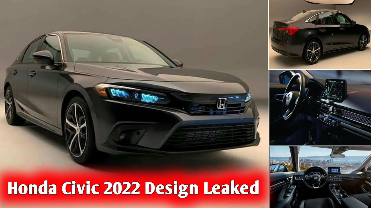 Honda Civic 2022 Model Design Revealed | Honda Civic 2022 Interior Design | Honda Civic New Model