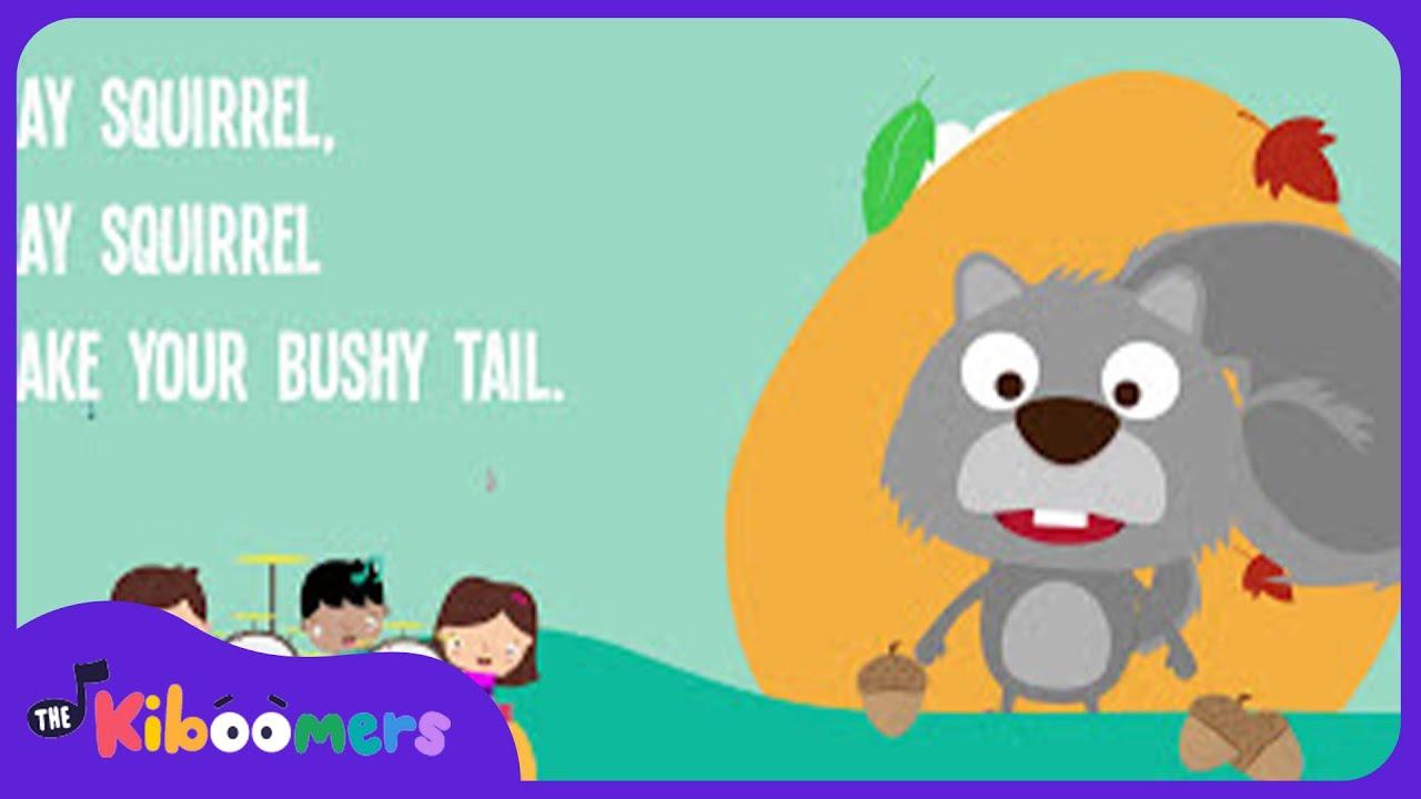 Grey Squirrel Shake Your Bushy Tail   Gray Squirrel   Kids Song ...