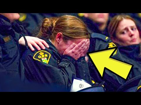 Cop Gets Call from Worried Teacher, What She Sees Next Makes Her Speechless