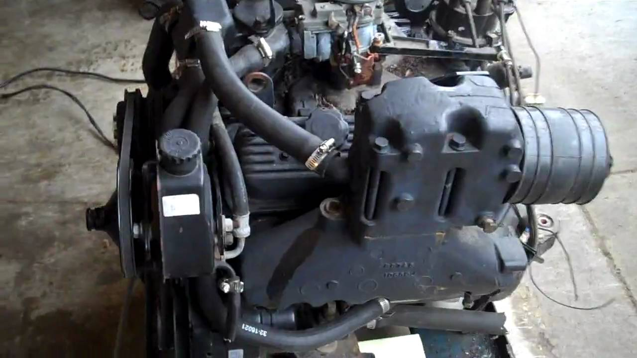 43L v6 Alpha One Merc Motor Engine 2  YouTube