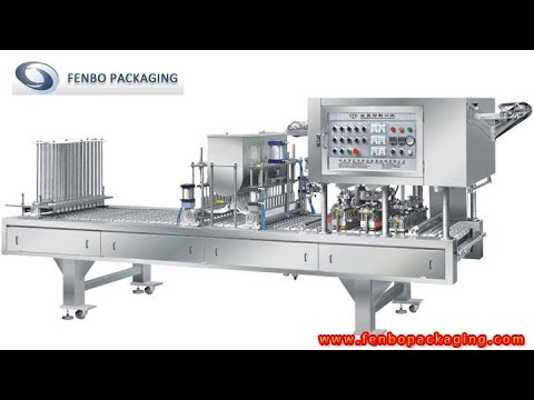How To Fill And Seal The Jelly Cups By Cup Filling And Sealing Machine-Fenbo Packaging
