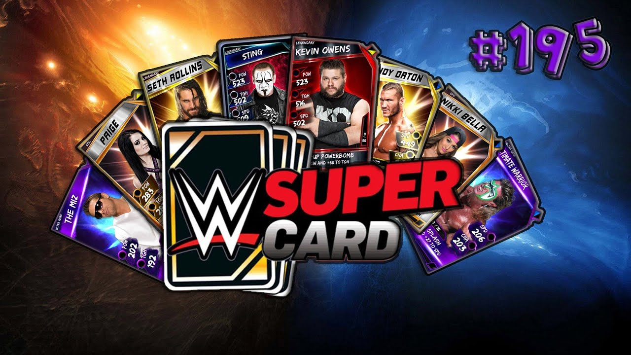 Wwe Supercard 195 2nd Account Fusion Rtg Youtube