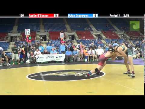 126 Austin O`Connor vs. Dylan Gregerson