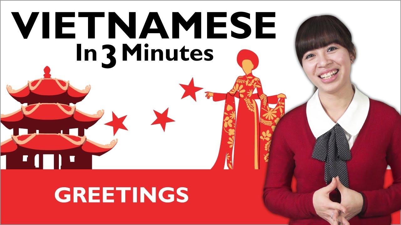 Learn Vietnamese - Greetings