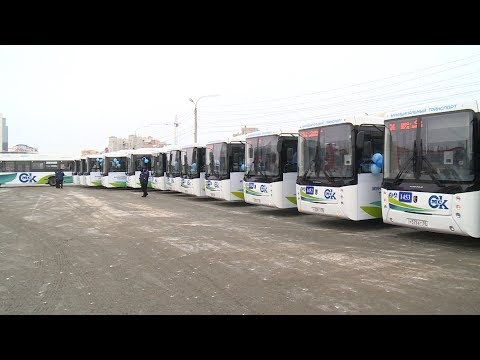 Правительство Омской области помогло закупить городу партию высокоэкологичных автобусов