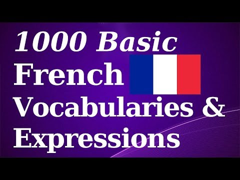 French words you need to know