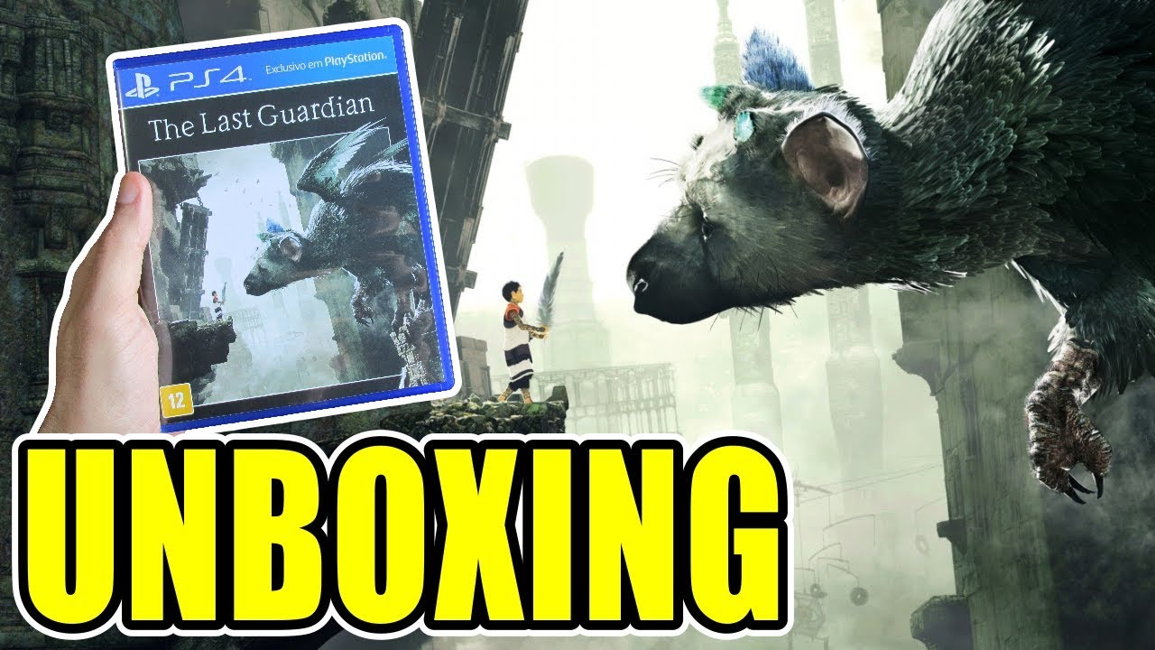 The Last Guardian (PS4) Unboxing