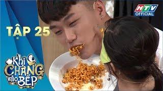 KHI CHÀNG VÀO BẾP | Khi người mẫu vào bếp | MÙA 2 - TẬP 25 FULL | 1/10/2019 #KCVB