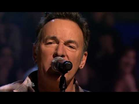 Bruce Springsteen at Fallon 2012