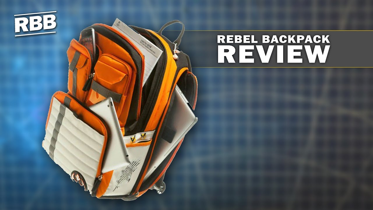 Star Wars Rebel Alliance Icon Backpack Review - YouTube bdfaa53277209