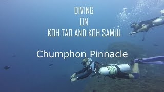 Diving on Koh Tao - dive site Chumphon Pinnacle