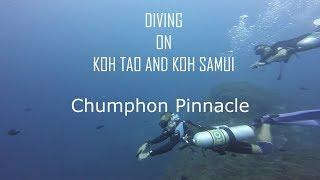 Diving on Koh Tao - dive site Chumphon Pinnacle