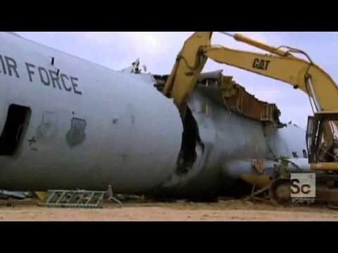 Aircraft Recycling   Case I   Downcycling via Materials Recovery