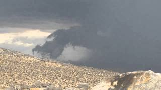 Cloud formation - time lapse