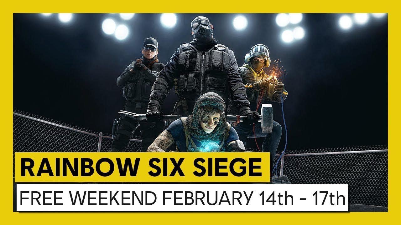 Tom Clancy's Rainbow Six Siege – Play For Free February 14th to 17th !