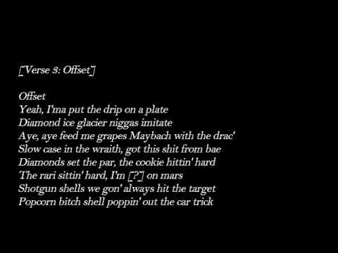 Tyga Ft. Offset – Taste  Lyrics