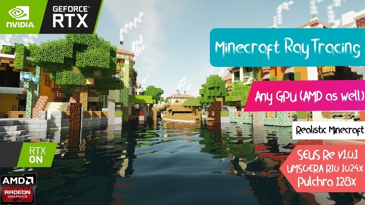 How to get Minecraft RTX (Works with TLauncher - AMD)