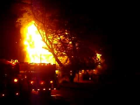 Irvona,Pa 3rd alarm working fire