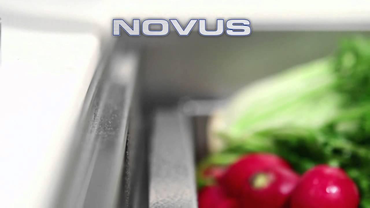 Houzer Novus Series Kitchen Sinks at KitchenSource.com - YouTube