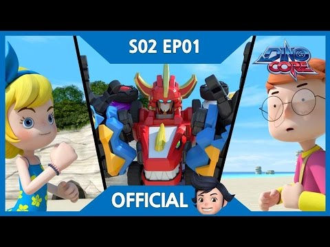Thumbnail: [DinoCore] Official | The appearance of a new evil, Vito | Tyranno Robot Animation | Season 2 EP01