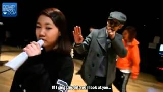 BTS 120424 Kpop Star  Behind the Story with GD TOP and Park Jimin