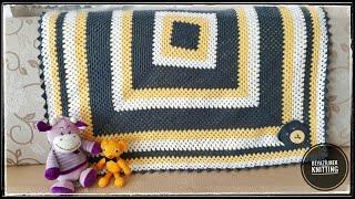 Kolay bebek battaniyesi yapımı-1 (Anlatımlı)