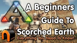 ARK: How to Get Started in SCORCHED EARTH - A Beginners Guide