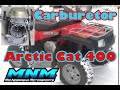 HOW TO - Arctic Cat 400 4x4 Carburetor Clean Carb Rebuild Kit Gas Fuel Cleaner GUMOUT 0470-454
