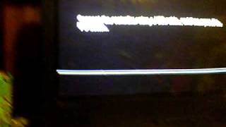 fix ps3 not going into xmb (not even going user select) by booting safe mode