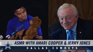 2019 Dallas Cowboys Schedule Through ASMR with Jerry Jones and Amari Cooper | Dallas Cowboys 2019