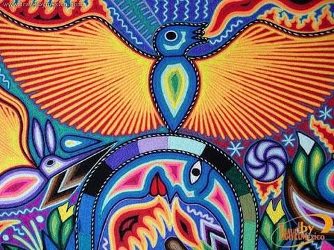 ARTE HUICHOL - La irresistible belleza y colorido del arte ...