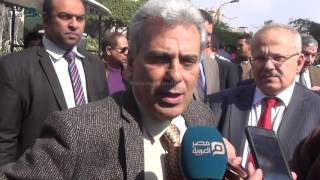 مصر العربية | جابر نصار |ثقافة المظاهرات والوقفات الإحتجاجية انتهت في جامعة القاهرة