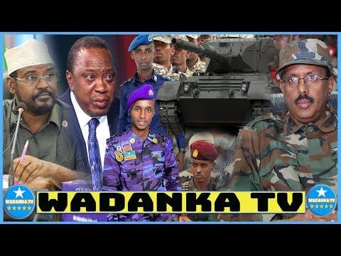 DEG DEG Dagaal Dhexmaray Kenya & Somalia, Dowlada Oo Gacanta Kudhigtay, A/Madoobe Oo Laga Diiday