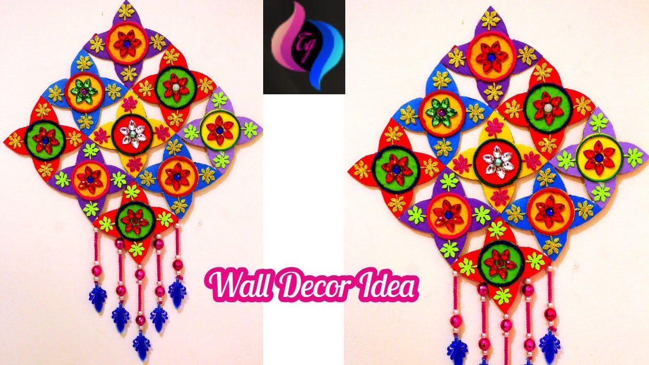 How To Make Home Decor With Waste Things Handmade Diy Best Out