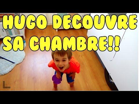HUGO A DECOUVERT SA CHAMBRE!!