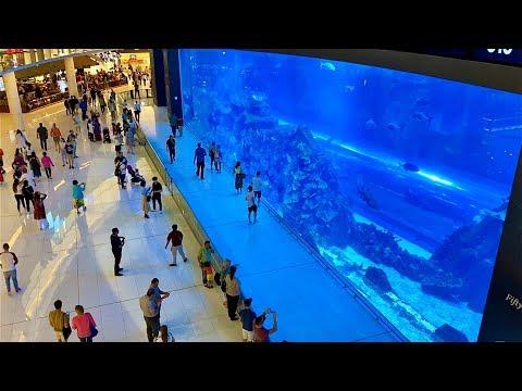 The Dubai Mall and The Dubai Fountain