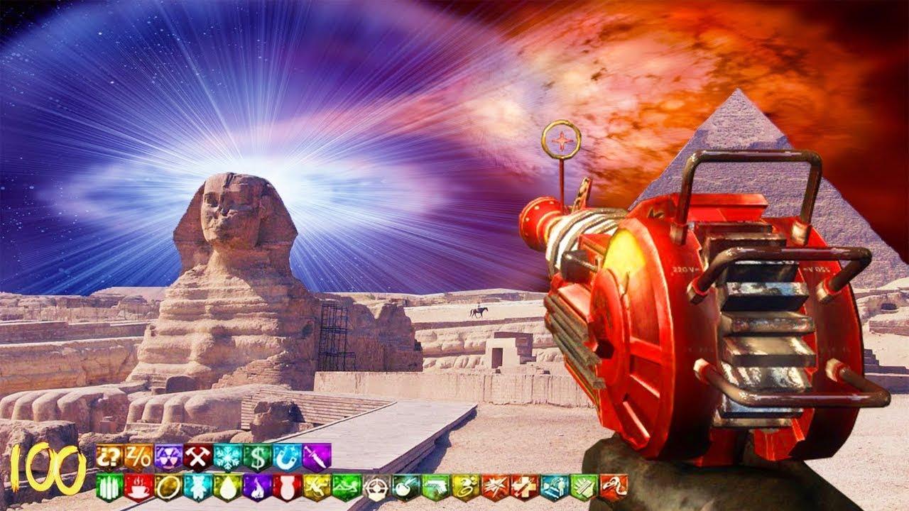 ANCIENNE ÉGYPTE PARKOUR ZOMBIES CHALLENGE MAP !!! + vidéo