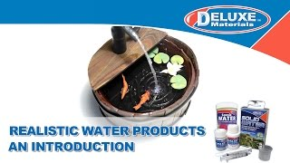 Realistic Water Products - Introduction To Our Products