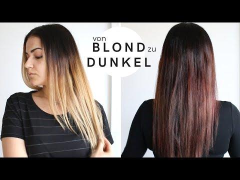 Blonde strähnen übertönen