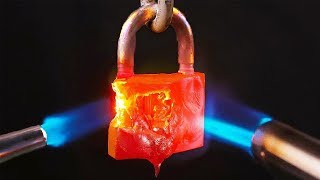 Incredible Fire Proof Lock!
