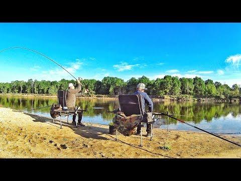 Выезд на реку Ока Рязанская на два дня. Рыбалка на ФИДЕР.