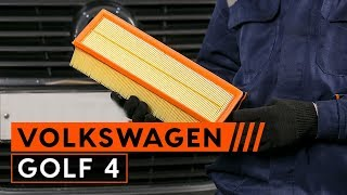 Wie VW GOLF IV (1J1) Bremszange austauschen - Video-Tutorial