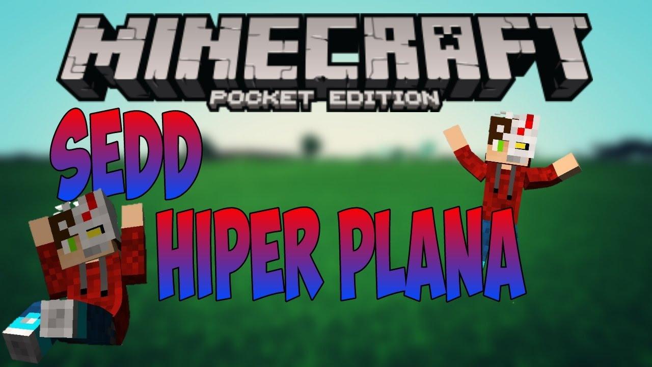 La Seed M U00e1s Plana De Minecraft Pe
