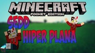 La Seed más plana de Minecraft Pe |Minecraft Pe 1.0.0