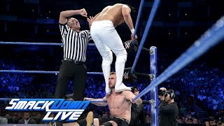 "Andrade ""Cien"" Almas makes his debut: SmackDown LIVE, May 15, 2018"