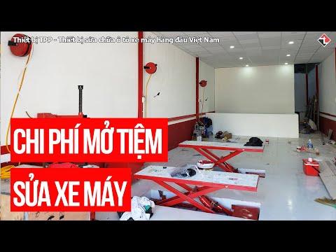 SETUP Chi Phí Mở Tiệm Sửa Xe Máy Tiêu Chuẩn ? - TPP Vlogs #1