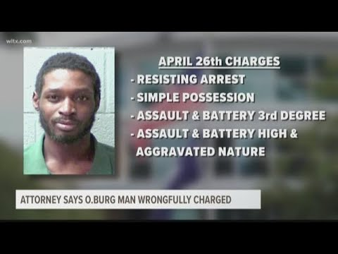 Attorney Says Orangeburg Man Wrongfully Charged