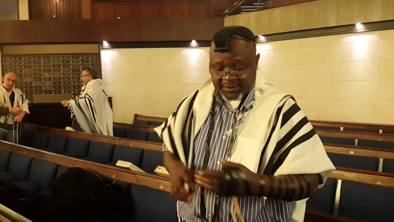 Black South African Joins Orthodox Judaism And Becomes -7559