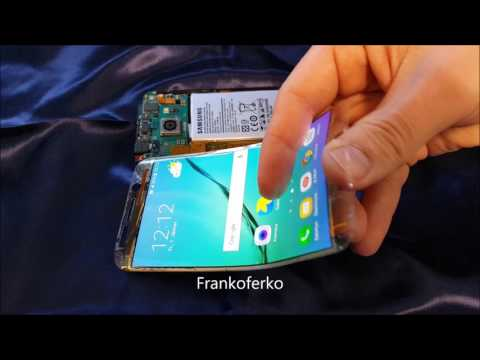 Samsung Galaxy S6 Edge Flexible OLED Display - flexibilis OLED kijelző