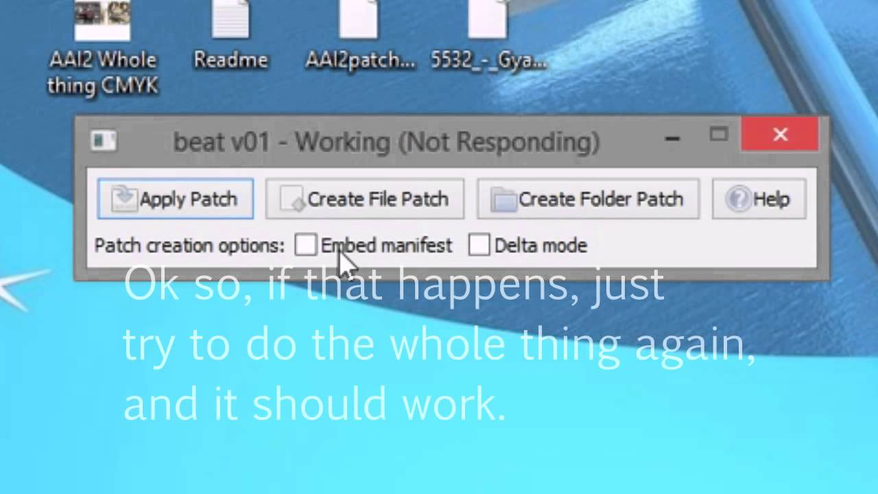 How to apply patches on DS roms